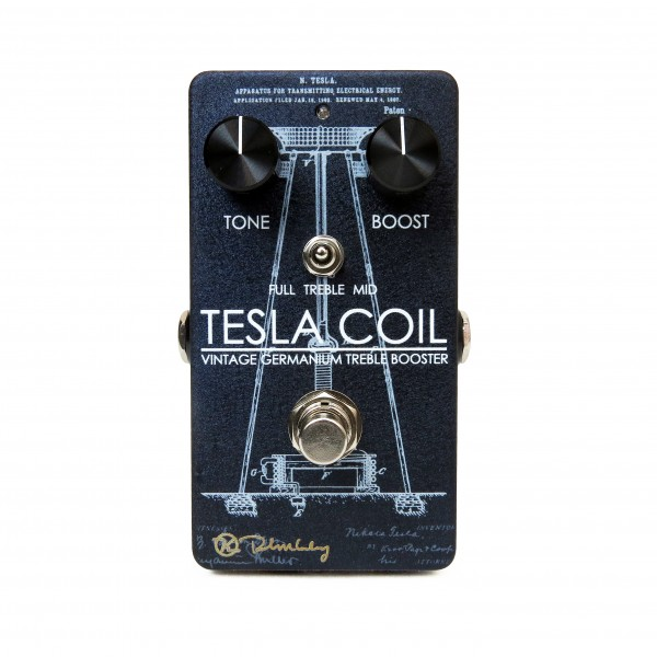 Keelet Tesla Coil Treble Boost Germanium Pedal