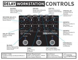 Keeley Delay Workstation Instructions Side 1