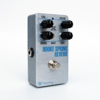 Hooke Spring Reverb Silver Face Angle White