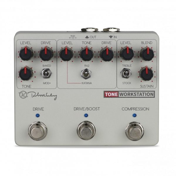 Keeley Electronics Tone Workstation Pedal Front