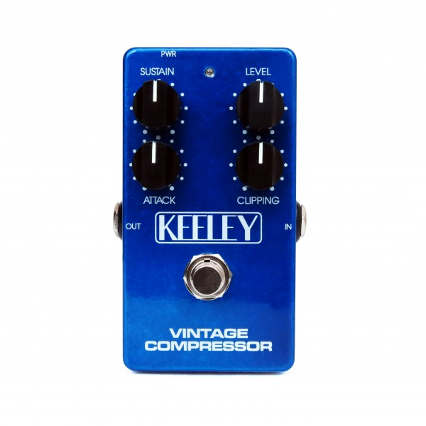 Keeley 4 Knob Compressor - in blue