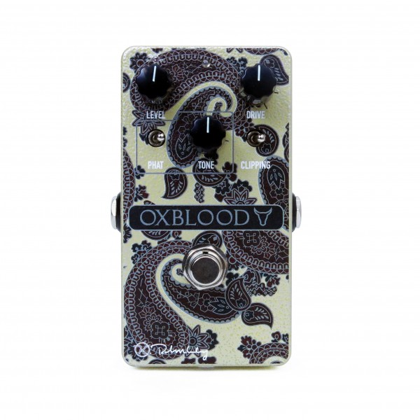Limited Edition Keeley Oxblood Overdrive Paisley
