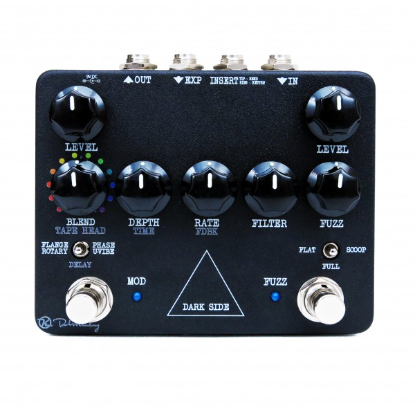 Keeley Dark Side Workstation Fuzz Rotary Vibe Phaser Flanger Delay Angle