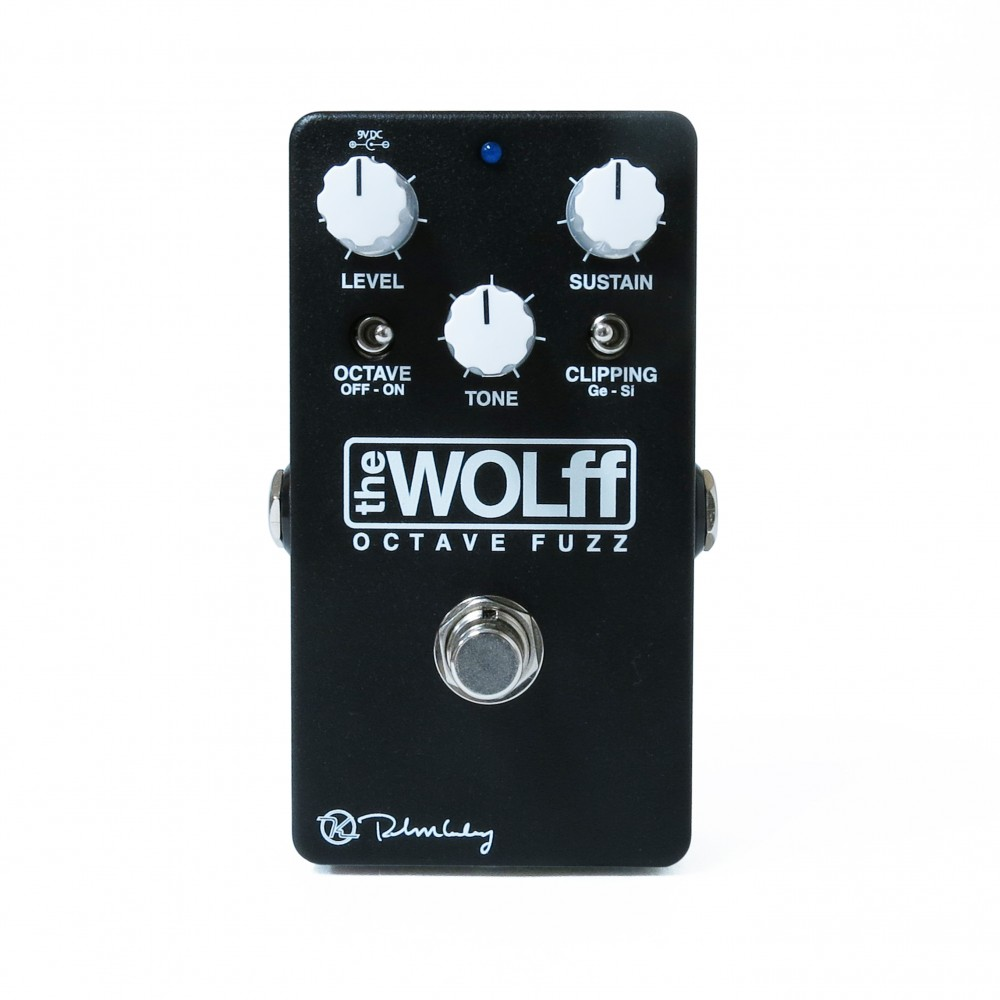 Wolff Octave Fuzz Black Front Keeley