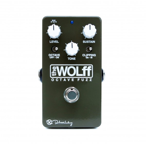 Wolff Octave Fuzz Green Face Keeley