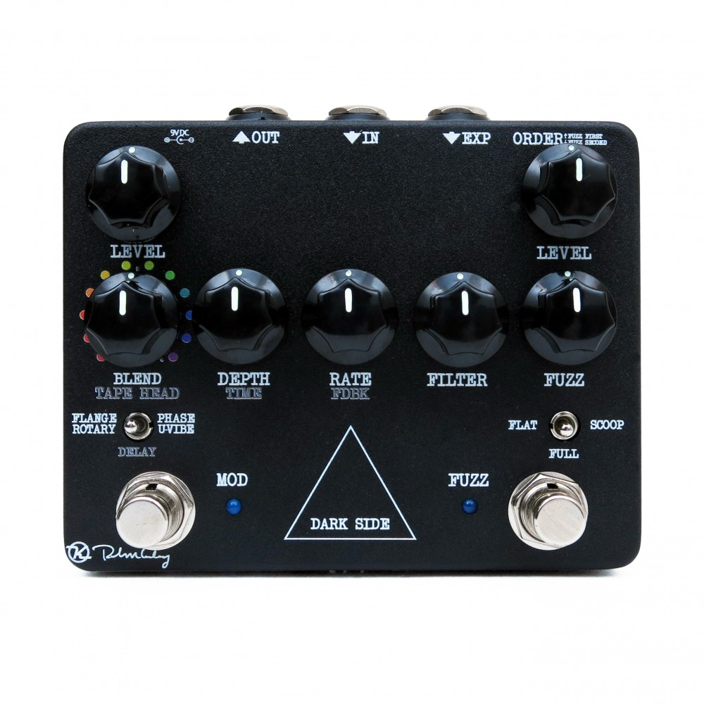 Dark Side Neo Vintage Fuzz Delay And Modulation Keeley Selector Switch Wiring Diagram Pedal
