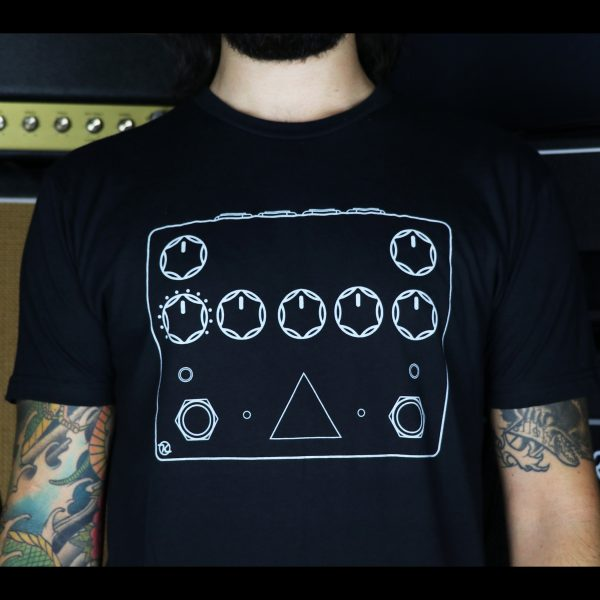 Keeley Dark Side Pedal T Shirt Front