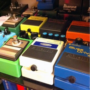 Keeley Modded Pedals