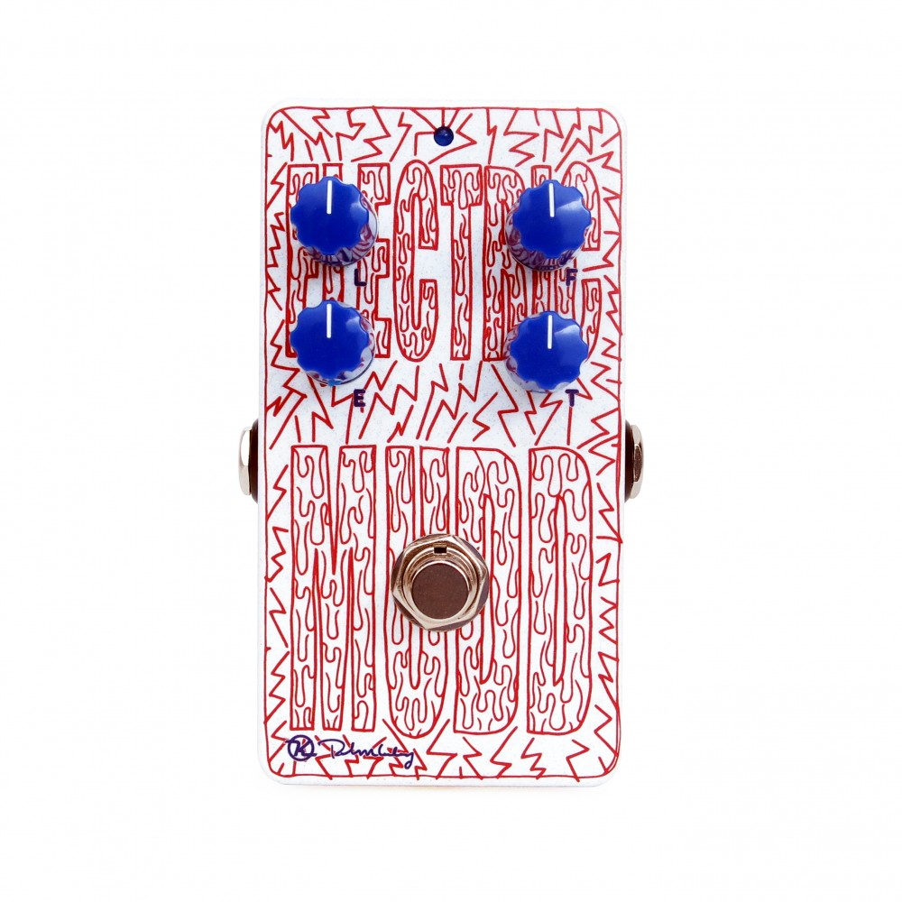 Electric Mudd Octave Fuzz Art White Face Keeley