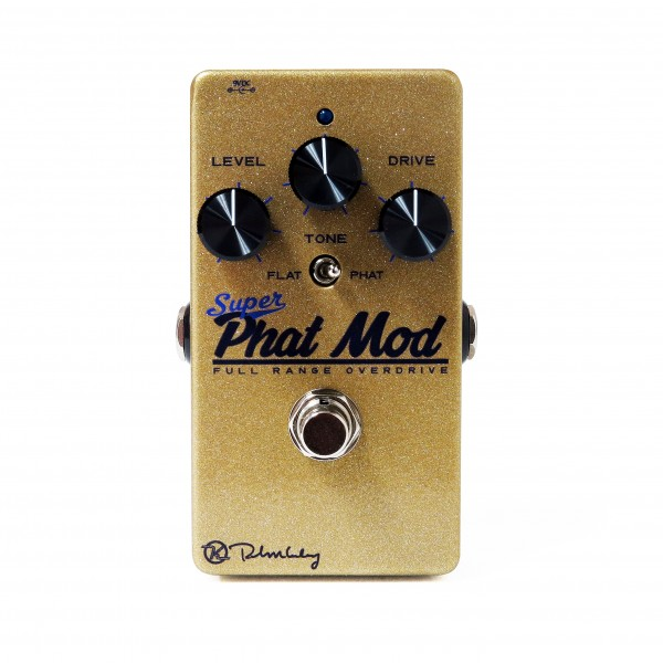 Super Phat Mod Overdrive Face White Keeley