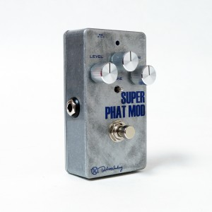Keeley Electronics Super Phat Mod Overdrive Silver Face Effect Pedal
