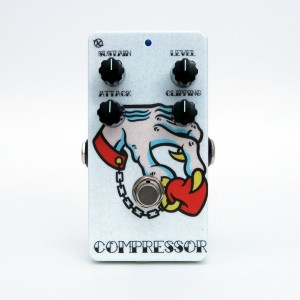 Keeley Electronics C4 Compressor Tanner Frady Valentines Face No 1