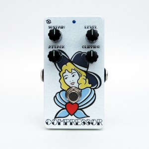 Keeley Electronics C4 Compressor Tanner Frady Valentines Face No 2