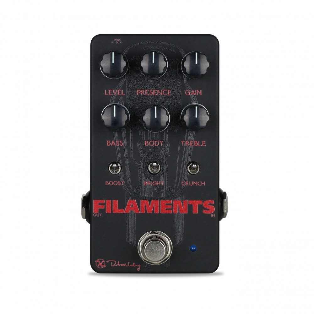 Keeley Electronics Filaments High Gain Distortion Pedal Front