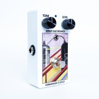 Germanium Ecstasy Treble Booster Angle White Keeley