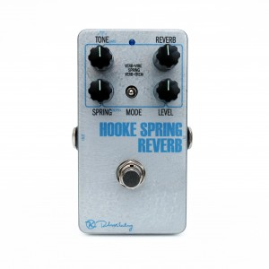 Keeley Electronics Hooke Spring Reverb Silver Face Front