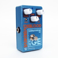 Oxblood Germanium Overdrive Keeley Angle White