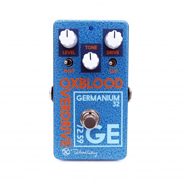Oxblood Germanium Overdrive Keeley Face White