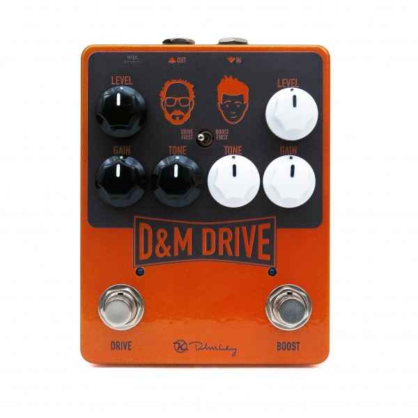 Keeley Electronics D&M Drive Effects Pedal