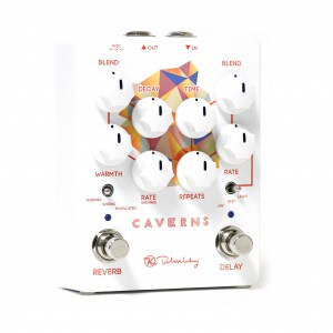 Keeley Electronics Caverns Delay Reverb Pedal Hero