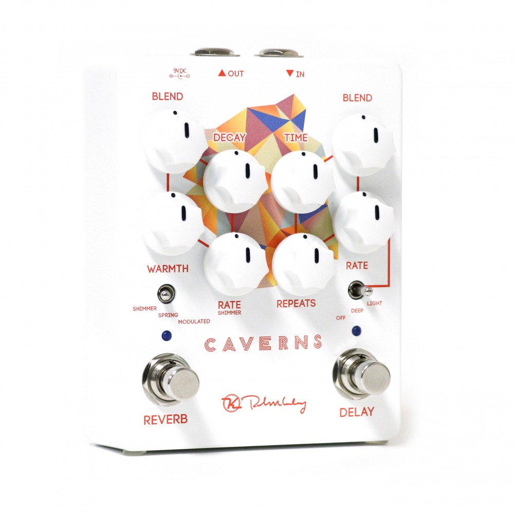 Caverns Delay Reverb V2 Electronic Lamp Switch Including Time Option Keeley Electronics Pedal Hero
