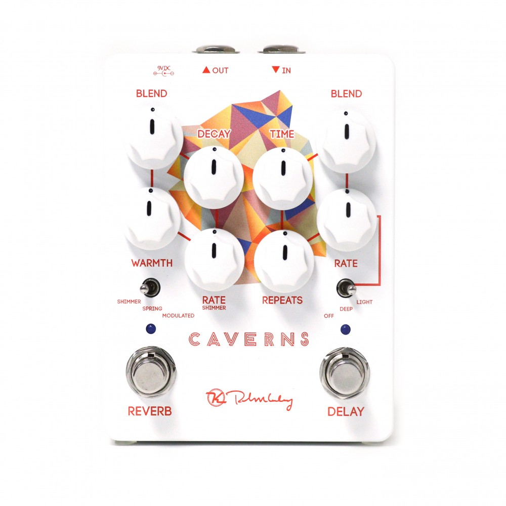 Keeley Electronics Caverns Delay Reverb Pedal Front