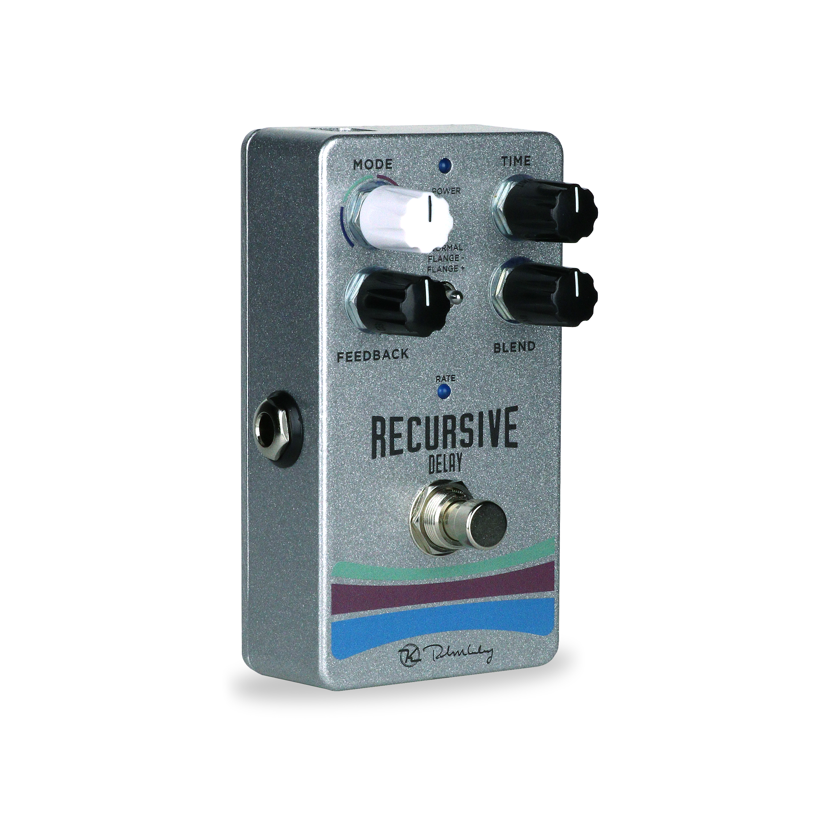 recursive delay tape echo pedal with a flanging twist robert keeley. Black Bedroom Furniture Sets. Home Design Ideas