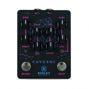 Caverns Black Neon