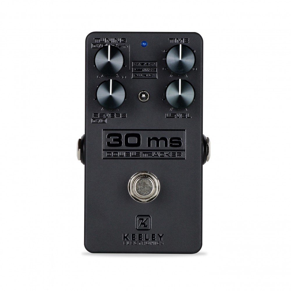 Dark Side Neo Vintage Fuzz Delay And Modulation Keeley Selector Switch Wiring Diagram Pedal 30ms Automatic Double Tracker Blackout Edition