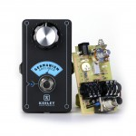 Keeley Electronics Germanium Amplifier Pedal Front with Board