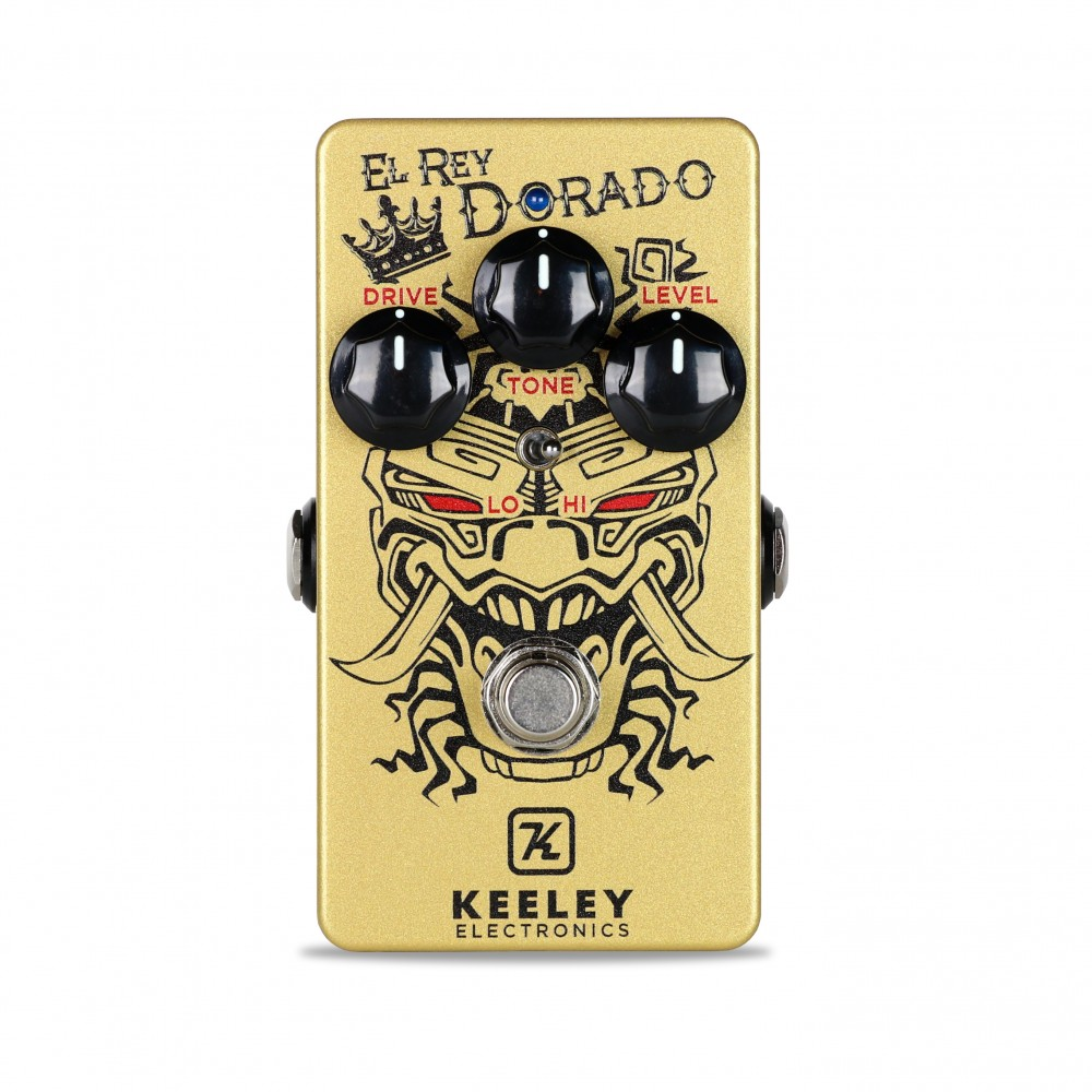 Keeley Electronics El Rey Dorado Distortion Pedal Front