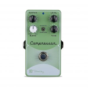 Keeley Electronics DIGF Compressor Plus Pedal Green Light Front