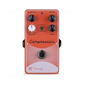 Keeley Electronics DIGF Compressor Plus Pedal Red Light Front