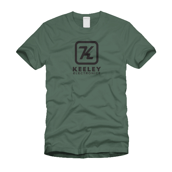Keeley Electronics Olive Shirt 01