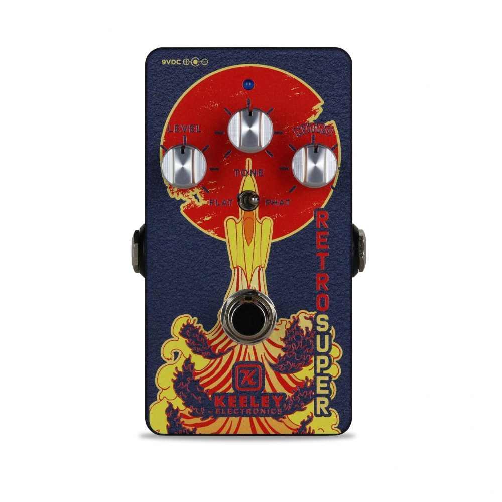 Keeley Electronics Retro Super Overdrive Pedal Front