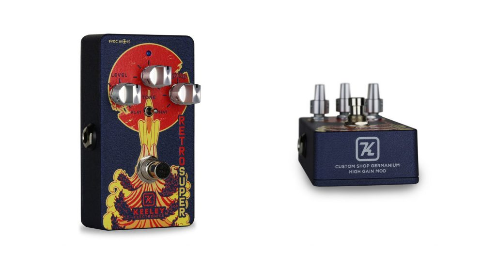 Keeley Electronics Retro Super Overdrive Pedal