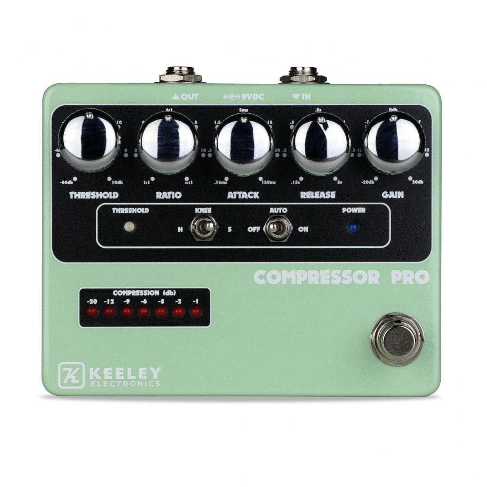 Keeley Electronics Daniel Donato Compressor Pro Pedal Front