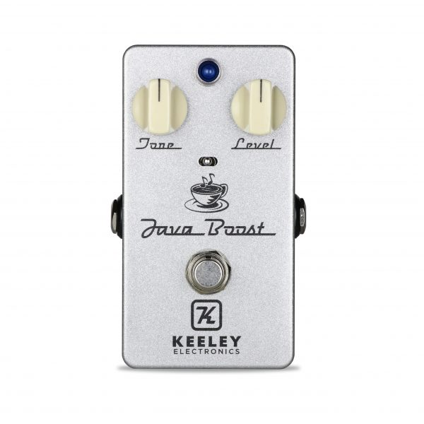 Keeley Electronics Java Boost New 2018 Front Pedal