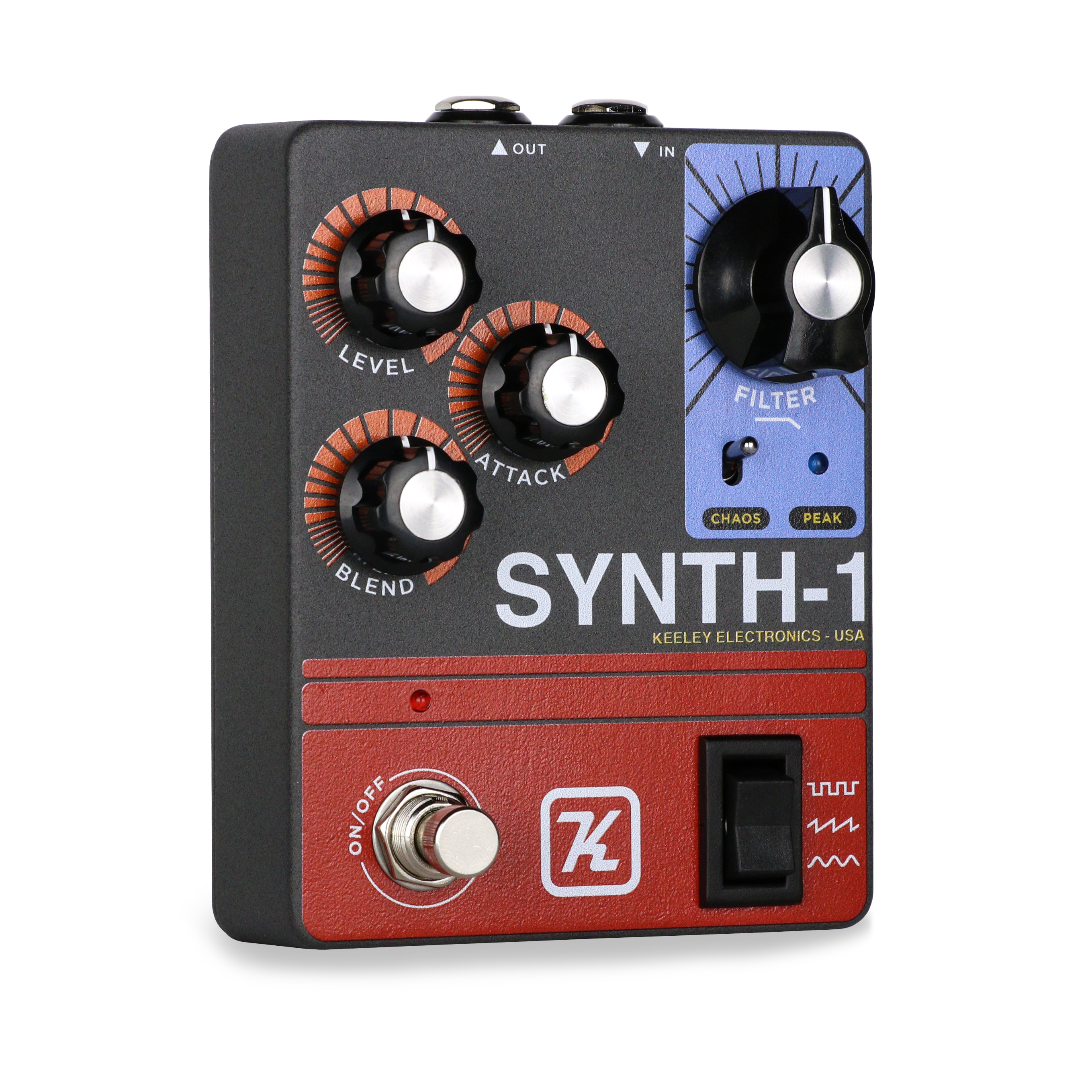 Guitar Synth Pedal >> Synth 1 Reverse Attack Fuzz Wave Generator Robert Keeley