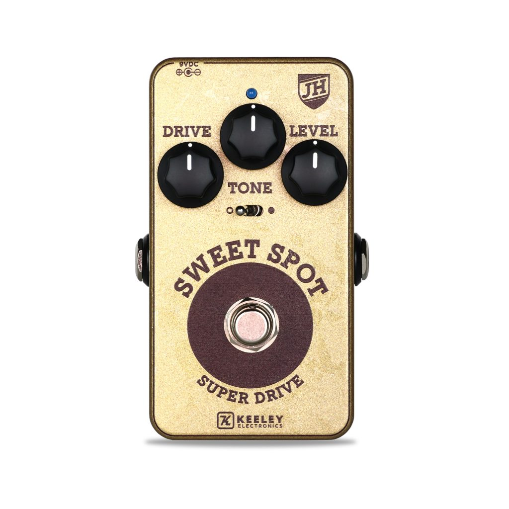 Keeley Electronics Sweet Spot Johnny Hiland Signature Overdrive - Front View