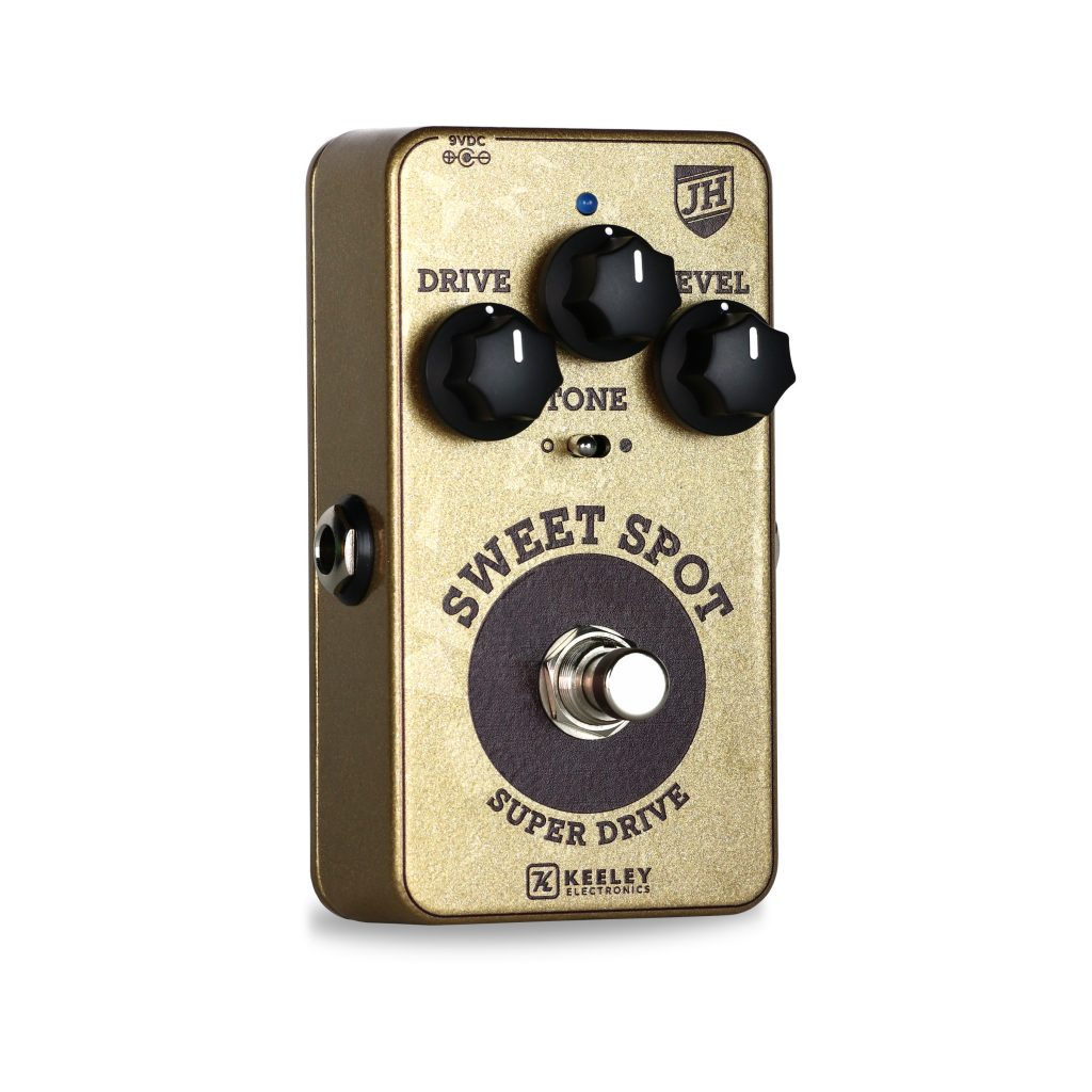 Keeley Electronics Sweet Spot Johnny Hiland Signature Overdrive - Hero View