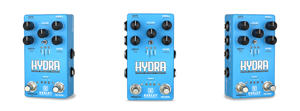 Keeley Hydra Stereo Reverb Tremolo