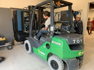 Ray Gerhart Keeley CNC and Forklift
